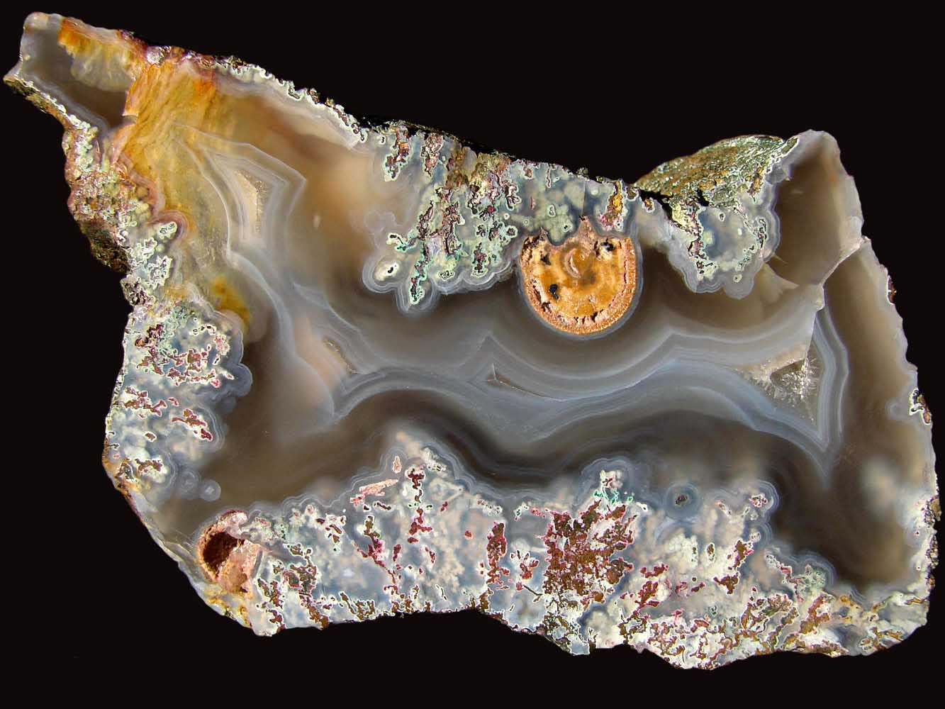 Agates From Hungary