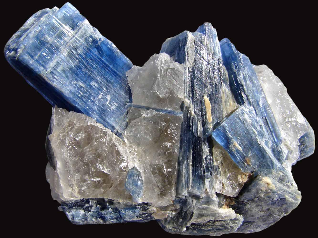 藍晶石原礦