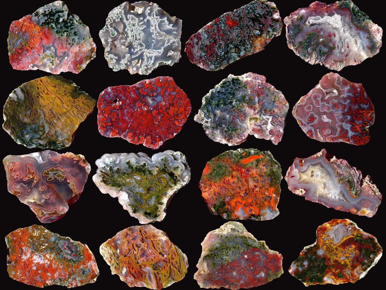 Agates and Minerals from Hungary