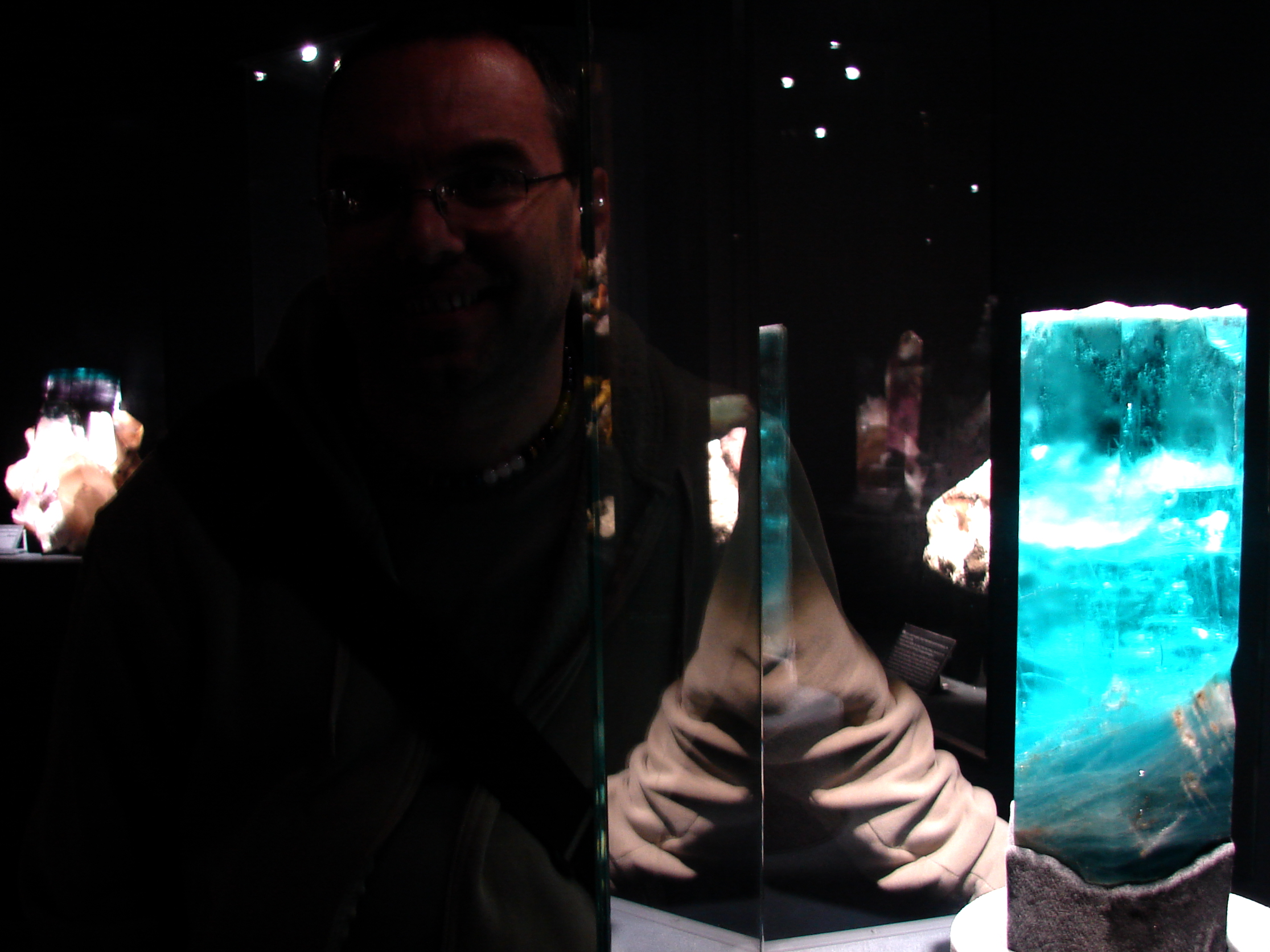 On the amazing Adalberto Giazotto gem and mineral exhibition - Firenze 2012.april.